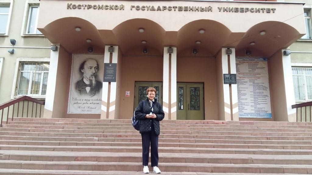 Преподаватель Шяуляйского университета (Литва) в КГУ