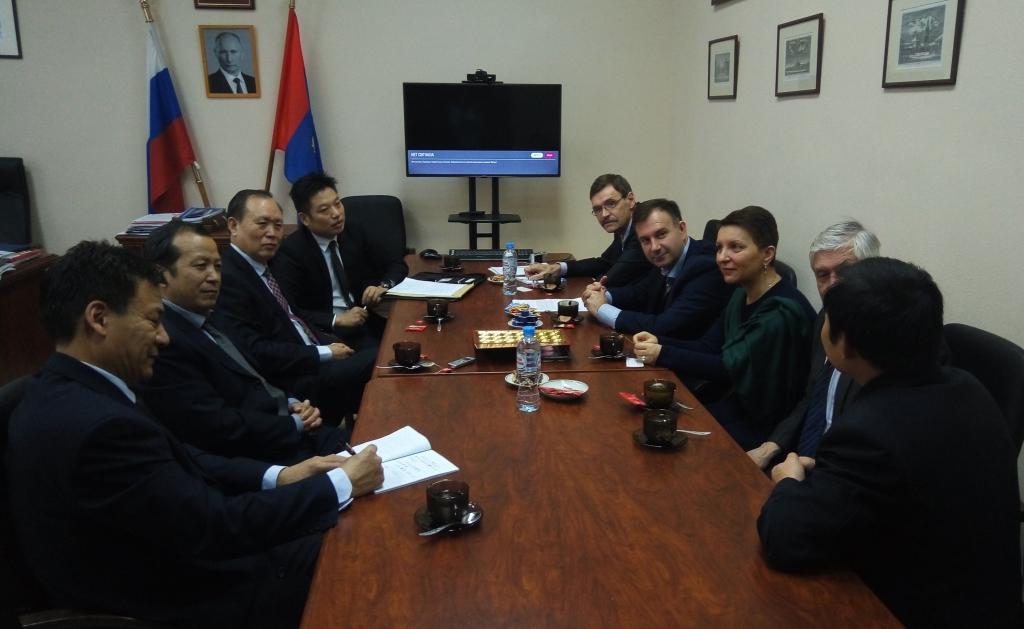 Прием китайской делегации из Лоянского института науки и технологии в КГУ