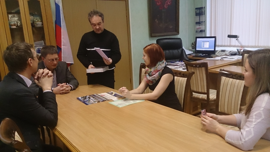Студенты из Университета им. Палацкого